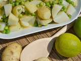 Fresh Lime & Mint Potato Salad with Jersey Royals