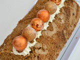 Gingerbread Roulade with Lemon Cream #BakeoftheWeek
