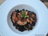 Italian Basil Chicken with Black Rice: ufuud Review