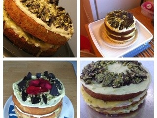 Lime & Pistachio Round-Up: Clandestine Cake-a-long 1
