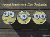 Minions Sweetcorn & Lime Cheesecakes