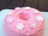 Raspberry & Passion Fruit Yoghurt Birthday Bundt Cake- Clandestine Cake-a-long 9