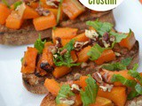 Roasted Butternut Squash Crostini – Bake of the Week