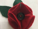 Super Easy Felt Poppy Tutorial