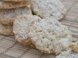 White Chocolate & Coconut Oat Cookies #BakeoftheWeek