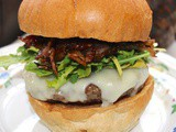 Bacon Onion Compote Burger