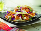 Ceviche Marinated Gulf Shrimp Tacos