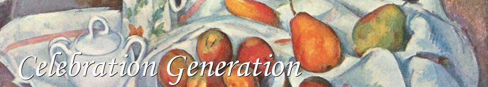 Very Good Recipes - Celebration Generation