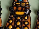 Sugar Cookie Decorating – Dalek Cookies