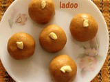 Besan ladoo recipe in Microwave – how to make besan ladoo in microwave (microwave recipes)