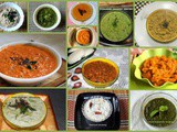 Collection of 12 veg chutney recipes – Indian chutney recipes
