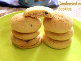 Condensed milk cookies – How to make condensed milk homemade cookies recipes – eggless recipes