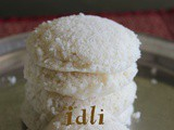 Cooked rice idli recipe – How to make idli with cooked rice or leftover rice recipe – idli recipes