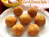 Corn cheese balls recipe – How to make cheese corn balls recipe – snacks recipes