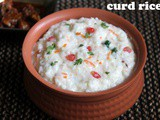 Curd rice recipe/mosaranna recipe/thayir sadam recipe – How to make South Indian curd rice recipe – rice recipes