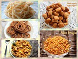 Diwali snacks recipes – collection of 5 easy Diwali snacks 2019 – Diwali recipes
