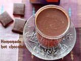 Homemade hot chocolate recipe – How to make hot chocolate recipe – beverages