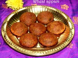Instant wheat flour appam recipe