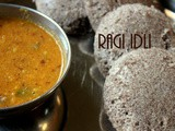 Ragi idli recipe – how to make ragi (finger millet) idli recipe | Ragi recipes |