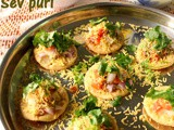 Sev puri recipe – how to make Mumbai sev puri recipe