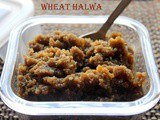 Wheat halwa (with fenugreek seeds) recipe – How to make wheat halwa (atta ka halwa) recipe – halwa recipes