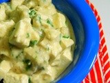 Cookbook Series: Paneer in Quick White Gravy