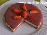 Strawberry Cheese Cake Recipe