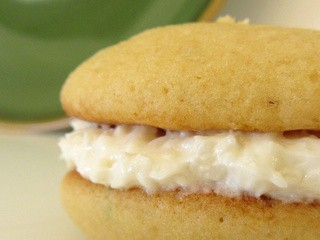 Coconut Lime Whoopie Pies