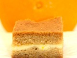 Orange Cream Blondies