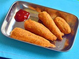 Baby Corn Bajji Recipe - Baby Corn Fingers Recipe