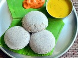 Black Rice Idli Dosa Recipe – Karuppu Arisi Idli Dosai