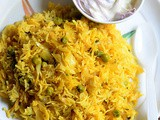 Cabbage Peas Biryani Recipe – Cabbage Rice Recipe