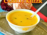 Carrot Kheer In Pressure Cooker - Carrot Payasam Recipe – Gajar Kheer