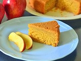 Eggless Apple Cake Recipe – How To Make Apple Cake (Microwave and convection oven version)