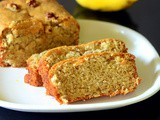 Eggless Banana Bread Recipe - No Butter, Moist