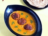Gulab jamun kofta curry recipe-side dish for roti