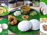 Idli recipe varieties-south indian breakfast recipes