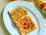 Instant Rava Toast / Suji Toast Recipe Without Curd