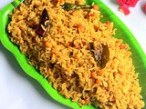 Kovil Puliyodharai Recipe –Temple Style Tamarind Rice