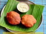 Mangalore Buns Recipe With Coconut Chutney – Banana Poori Recipe