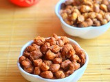 Masala Peanuts Recipe – Masala Kadalai (Microwave & Deep fried Versions)