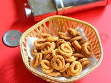 Mini Besan Murukku Recipe – Kadalai Maavu Murukku - Small Murukku Recipe