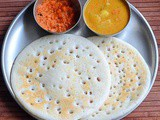 Set Dosa Without Curd–Sponge Dosa Recipe