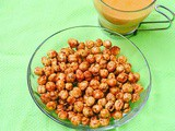 Spicy Roasted Chickpeas / Chana In Air fryer–Indian Air fryer Recipes
