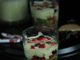 No bake Biscuit fruit pudding/Parfaits