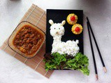Alpaca Curry Bento