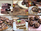 13 Chocolate Recipes for Snowy Days & March's #WeShouldCocoa Link-up