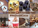 15 New Year Chocolate Recipes and January's #WeShouldCocoa Link-up