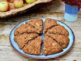 Apple Cider Scones with Cinnamon – An Autumnal Sunday Breakfast Treat