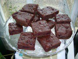 Beetroot & Almond Chocolate Squares